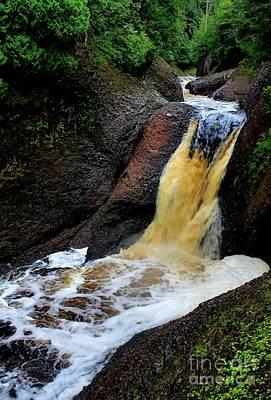 Photograph - Gorge Falls by Matthew Winn