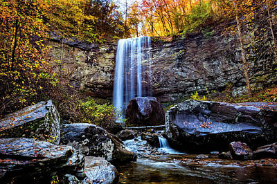 Photograph - Gorgeous Autumn Falls by Debra and Dave Vanderlaan