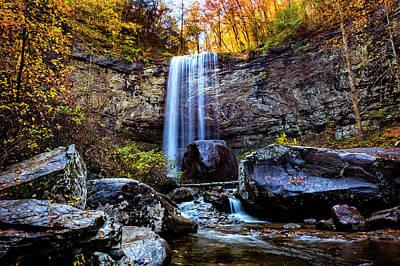 Photograph - Gorgeous Autumn Falls by Debra and Dave Vanderlaan
