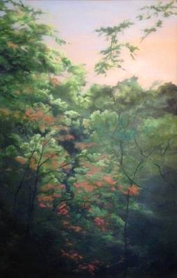 Painting - Gorgeous Gorge by Irene Corey