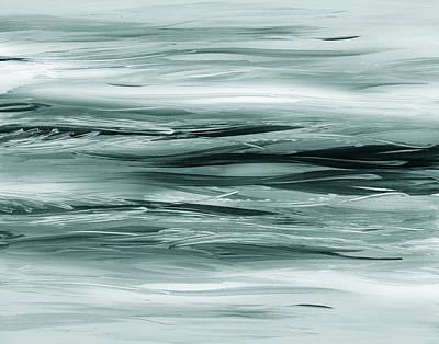 Painting - Gorgeous Grays Abstract Interior Decor Viii by Irina Sztukowski