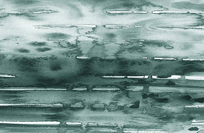 Fifty Shades Of Grey Painting - Gorgeous Grays Abstract Interior Decor X by Irina Sztukowski