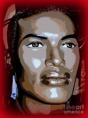 Digital Art - Gorgeous Greg by Ed Weidman