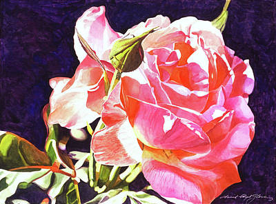 Painting - Gorgeous Rose by David Lloyd Glover