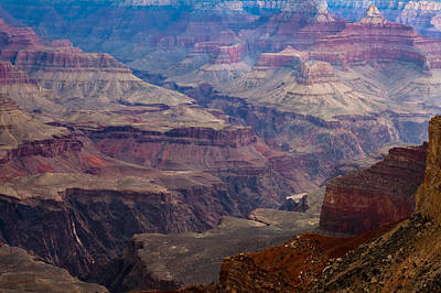Photograph - Gorges Of The Grand Canyon by Ed Gleichman