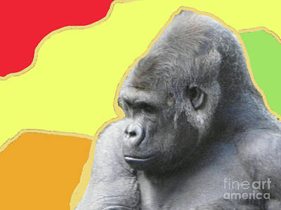 Photograph - Gorilla  In Memphis by Shirley Moravec