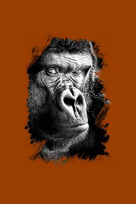 Photograph - Gorilla T-shirt by David Millenheft