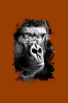 Photograph - Gorilla T-shirt by David Millenheft