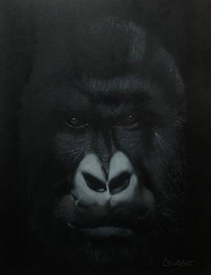 Painting - Gorille by Jean Yves Crispo