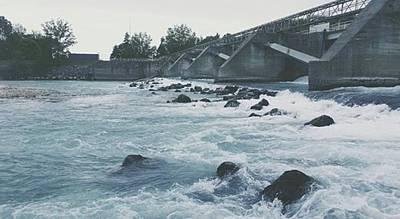 #gorizia #isonzo #diga #dam #river Original