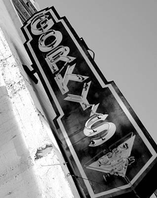 Photograph - Gorky's Cafe by Jeff Lowe