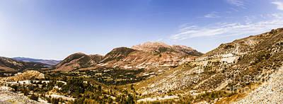Photograph - Gormanston Tasmania Mountain Panorama by Jorgo Photography - Wall Art Gallery