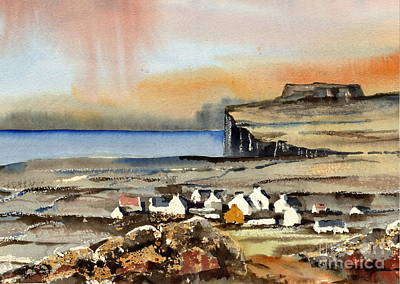 Painting - Gort Na Gapall Inismore Anan by Val Byrne