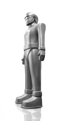 Photograph - Gort  Robot Side View by Gary Warnimont