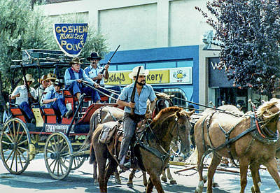 Photograph - Goshen Parade 1980-3 by Gene Parks
