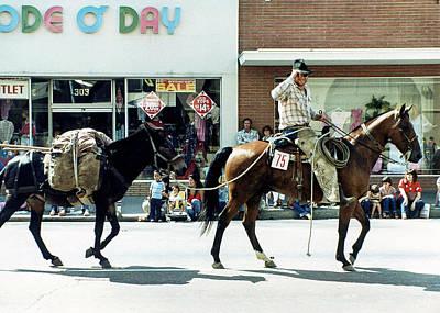 Photograph - Goshen Parade 1980 by Gene Parks