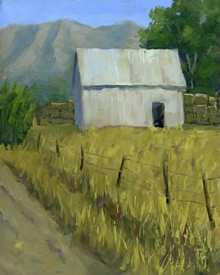 Bales Painting - Goshen Ranch by David King