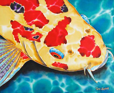 Goshiki Koi Art Print by Daniel Jean-Baptiste