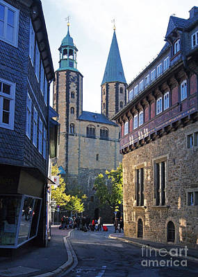 Photograph - Goslar Market Church by Rudi Prott