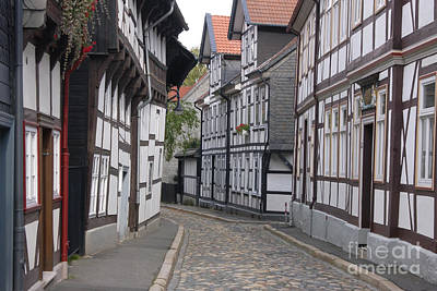 Photograph - Goslar Old Town 3 by Rudi Prott