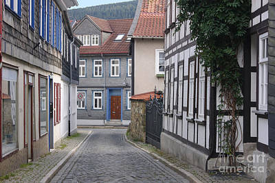 Photograph - Goslar Old Town 4 by Rudi Prott