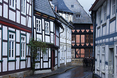 Photograph - Goslar Old Town 5 by Rudi Prott