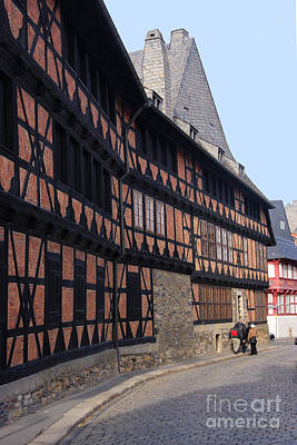 Photograph - Goslar Old Town 6 by Rudi Prott