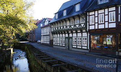 Photograph - Goslar Old Town 7 by Rudi Prott