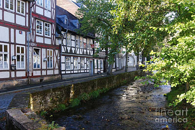 Photograph - Goslar Old Town 8 by Rudi Prott
