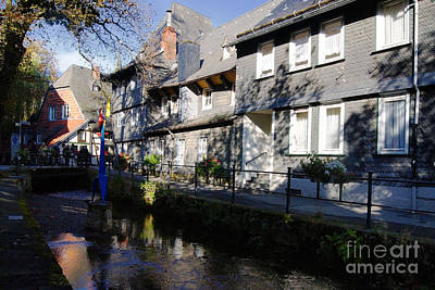 Photograph - Goslar Old Town 9 by Rudi Prott
