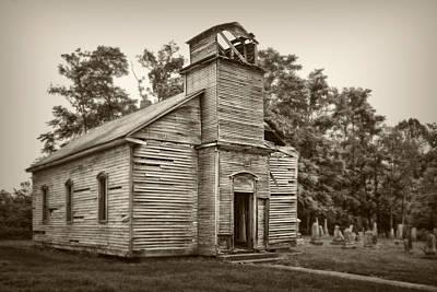 Lutheran Photograph - Gospel Center Church Iv by Tom Mc Nemar