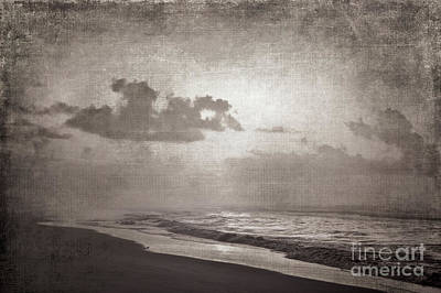 Photograph - Gossamer Beach At Sunrise Bw by Dan Carmichael