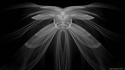 Digital Art - Gossamer by Linda Whiteside