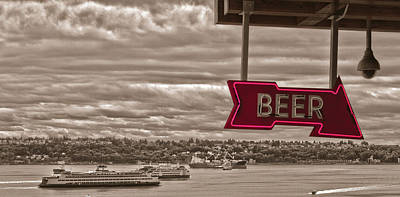 Photograph - Got Beer by Daniel Houghton