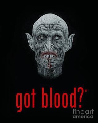 Got Blood? Print by Wave