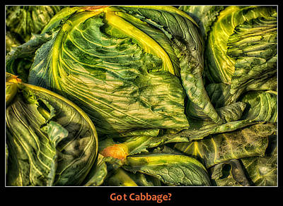 Got Cabbage? Art Print