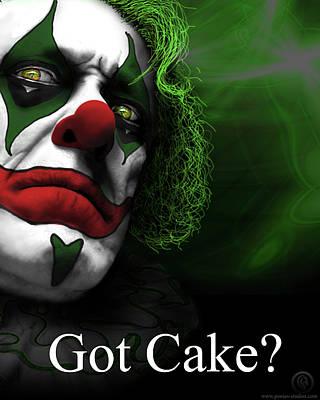Got Cake Art Print