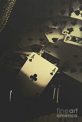 Playing Cards Photograph - Got Game by Jorgo Photography - Wall Art Gallery