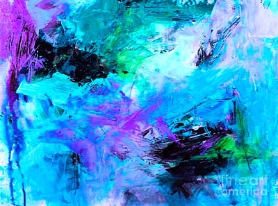 Prophetic Art Digital Art - Got The Blues, Dance Your Way Into Spring by Beverly Guilliams