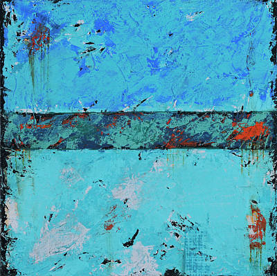 Painting - Got The Blues by Jim Benest