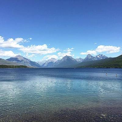 Photograph - Got To #glaciernationalpark! #nps100 by Patricia And Craig