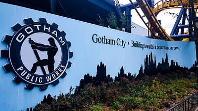 Super Hero Photograph - Gotham City by Britten Adams
