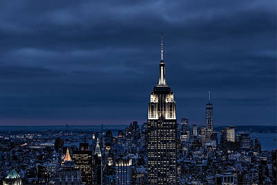 Photograph - Gotham City by Christopher Villandry