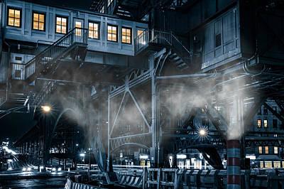 Gotham City Art Print by Mihai Andritoiu
