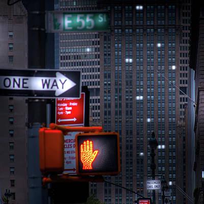Photograph - Gotham by Mark Andrew Thomas