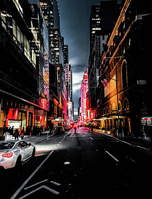 Art Print featuring the photograph Gotham  by Nicklas Gustafsson