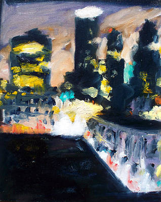 Painting - Gotham by Robert Reeves