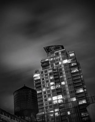 Photograph - Gotham Rooftop by Heather Reichel