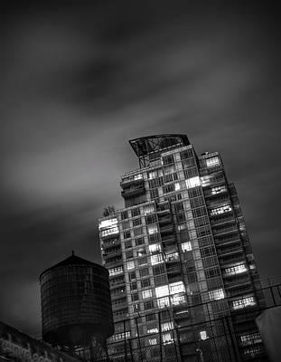 Photograph - Gotham rooftop by Heather Reichel