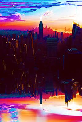 Painting - Gotham by Tony Rubino